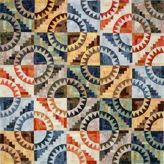 Cabin Fever~Quiltworx.com  Made by Certified Instructor Sandy Lueth
