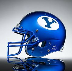 Byu Football, College Football Helmets, Byu Sports, Amazing Race, Athlete, Colleges, Bobby, Royal Blue, High Schools