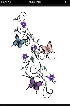 Afbeeldingsresultaat voor tattoos for moms with kids names ideas