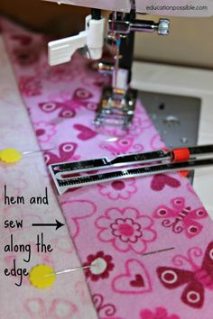 Teaching Kids Life Skills: Sewing Education Possible http://educationpossible.com/teaching-kids-life-skills-sewing/