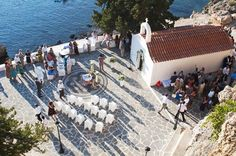 The Wedding ... St.Paul's Bay - Lindos - Rhodes