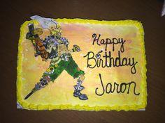 Junkrat Birthday Cake