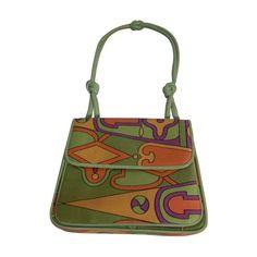 Vintage Handbags Koret Silk Print Hand Bag Handbag / Purse, Brown - Koret Silk Print Hand Bag with Yellow Leather interior and Padded Leather Corded Handle. Popular Handbags, Trendy Handbags, Cute Handbags, Luxury Handbags, Fashion Handbags, Purses And Handbags, Fashion Bags, Cheap Handbags, Luxury Purses
