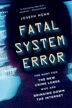 Fatal System Error: The Hunt for the New Crime Lords Who Are Bringing Down the Internet by Joseph Menn. Author: Joseph Menn.  Publisher: PublicAffairs (October 26, 2010). 306 pages Interesting book about DDOS attacks and cyber crime featuring Barrett Lyon