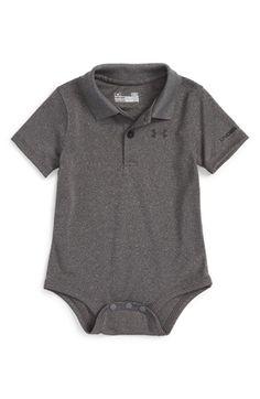 Under Armour HeatGear® Polo Bodysuit (Baby Boys)