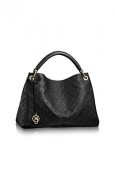Louis Vuitton Handbag Artsy MM Black #Louis #Vuitton #Artsy