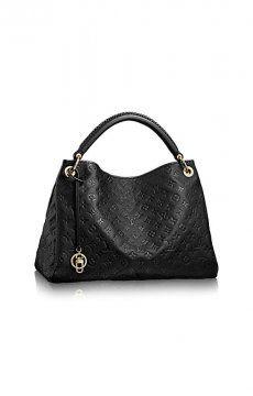 Louis Vuitton Handbag Artsy MM Black #Louis #Vuitton #Artsy