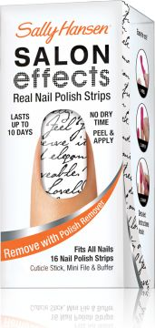 Salon Effects Real Nail Polish Strips in Love Letter by Sally Hansen
