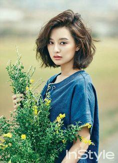 Kim Ji Won 김지원     - InStyle Magazine