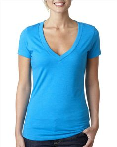 #Deep v neck t shirts for women, #women deep v neck t shirt, #ladies deep v neck t shirt