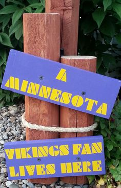 Come check out the Minnesota Vikings solar light for those die-hard Minnesota fans! The colors REALLY pop and stand out! Visit our store, ALittleFlare, on Etsy for more information! Viking Baby, Viking Life, Buckeyes Football, Best Football Team, Viking Decor, Painted Mailboxes, Prior Lake, Minnesota Vikings Football, White Bear Lake