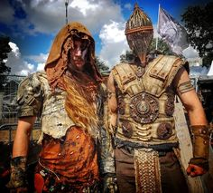 Wasteland Warriors on W:O:A 2016 by Eckaaat on DeviantArt Apocalypse Gear, Wasteland Warrior, Post Apocalyptic Costume, Renaissance Fair, Vikings, My Photos, Steampunk, Wonder Woman, Cosplay