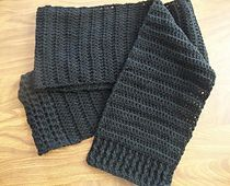 Ravelry: Simple Scarf for a Homeless One pattern by Suzanne Broadhurst