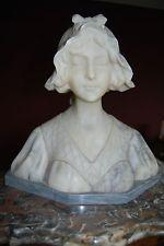 BUSTE marbre de  GUSTAVE VAN VAERENBERGH (1873-1927)