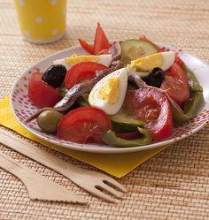 Salade niçoise - Ôdélices : Recettes de cuisine faciles et originales !