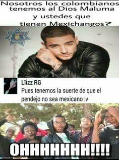 Wooooooo punto para los mexicanos