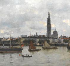 De rede van Antwerpen door Robert Mols uit 1878