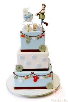 Baby Shower Fashion Specialty Cake