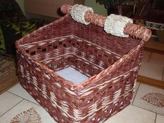 pletení s papíru