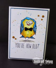 Did I say that out loud?: Bird Crazy - for The Scrapbook Store
