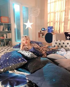 Im Youngmin, Birthday Dates, Bean Bag Chair, Toddler Bed, Entertaining, Table, Room, Furniture, Home Decor