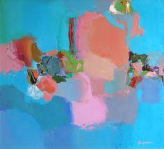 """Saatchi Online Artist: Oleksandr Kryuk; Oil, 2012, Painting """"Movement in Space"""""""