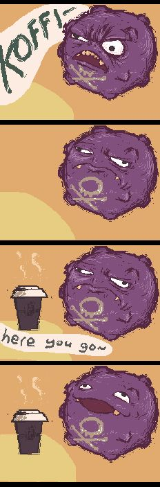 Just love this.. Koffing is awesome