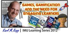My presentation on Games, Gamification and the Need for Engaging Learners.