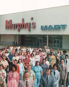 Murphy Mart- My first job was with with MM!