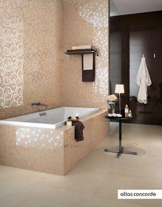 #MAGNIFIQUE moka and champagne | #AtlasConcorde | #Tiles | #Ceramic