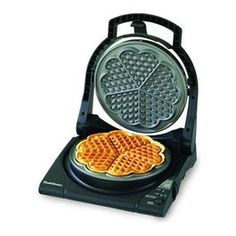 Best waffle makers no. Chef's Choice 840 WafflePro Express Waffle Maker (American Waffles). The WafflePro Express turns out American-styles waffles fast and fancy. Heart Shaped Waffle Maker, Best Waffle Maker, Belgian Waffle Maker, Belgian Waffles, Norwegian Waffles, Kitchen Tools, Kitchen Gadgets, Kitchen Dining, Kitchen Stuff