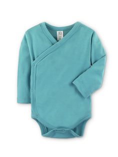 5f3625f00 Colored Organics Baby Organic Kimono Bodysuit Long Sleeve 36 Months Teal --  Find out more