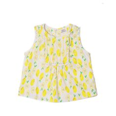 Embroidered Shift Top   Girl's tops- Egg by Susan Lazar