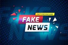 Fake news live over curvy violet background | Free Vector Red And Black Background, Violet Background, Pink Live, Big Letters, New Backgrounds, Fake News, Banner Template, Read News, Banner Design