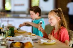 """5 easy way to get kids talking at the table. Because """"uh huh"""" and """"I don't remember"""" don't do much for conversation."""