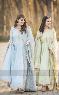 Brides sisters on the nikkah day