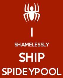 I Shamelessly Ship Spideypool, however, strictly a bromance ship.