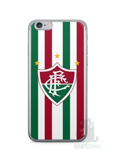 Capa Iphone 6/S Time Fluminense #1 - SmartCases - Acessórios para celulares e tablets :)