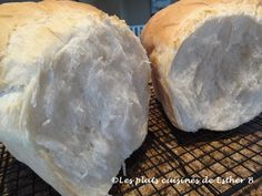 Les plats cuisinés de Esther B: Pain blanc Amish Desserts With Biscuits, Bread Machine Recipes, Amish Recipes, Perle Rare, Esther, Brunch, Food And Drink, Favorite Recipes, Homemade