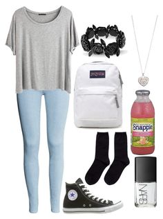 """Request:Back to Junior high"" by aliyahbeyah ❤ liked on Polyvore"