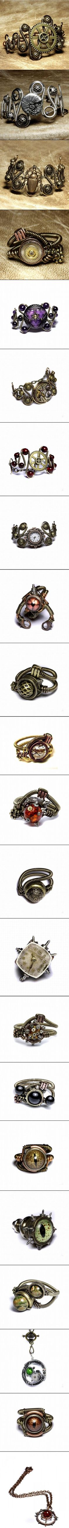 steampunk jewelry diy