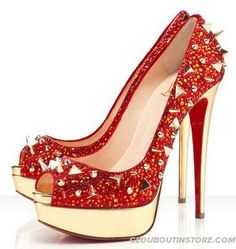 Christian Louboutin Very Mix 150mm Red Pumps Red Bottom Shoes