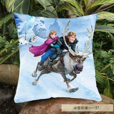 Find More Cushion Cover Information about 2014 New Custom Frozen Throw Cushion Cover princess Anna Pattern Double Sides Printing Decorative Sofa Pillow Cover 4 sizes,High Quality cover,China cover open Suppliers, Cheap cover fx from Welcome Tina's Shop  on Aliexpress.com