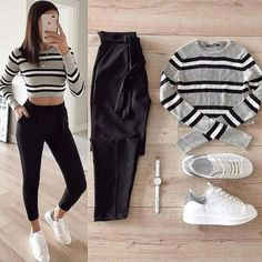 Which one 1 or 2 ❤?📌 Comments and Tag your friends👈 . Girls Fashion Clothes, Teen Fashion Outfits, Fashion Pants, Stylish Outfits, Trendy Fashion, Cool Outfits, Womens Fashion, Winter Fashion, Mode Hijab