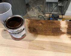 Kitchen Progress: Butcher Block Shelf – Project Palermo Ikea Corner Desk, Ikea Cart, Palermo, Shelf, Kitchen Appliances, Diy Kitchen Appliances, Shelving, Home Appliances, Shelves