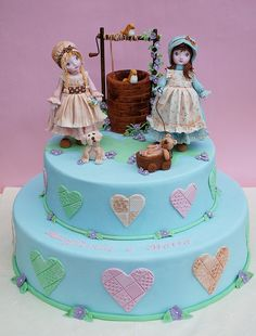 Cake Sarah  Kay by Alessandra Cake Designer, via Flickr