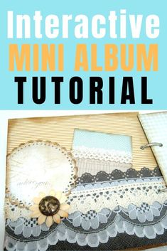 How to make an interactive mini album with different pocket pages for inserts Craft Projects For Adults, Easy Craft Projects, Craft Tutorials, Heritage Scrapbooking, Scrapbooking Ideas, Halloween Mini Albums, Journal Art, Art Journals, Junk Journal