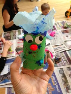 Mr Rollie Head - Toddler Arts and Crafts