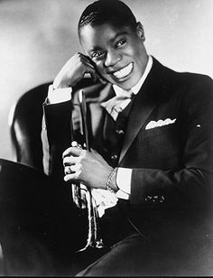 Young Louis Armstrong