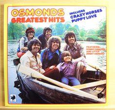 THE OSMONDS - Greatest Hits - mint minus -  Vinyl LP - Donny Osmond - Puppy Love